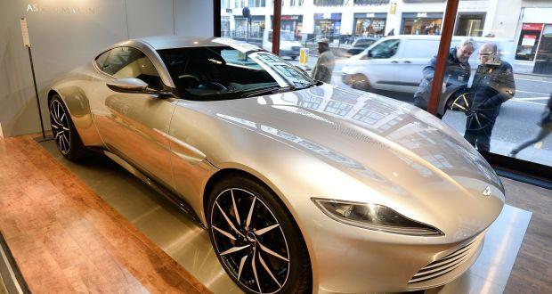 Aston Martin To Auction Off James Bond Spectre Car - James bond aston martin db10