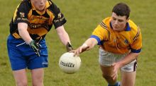 Robbie Henshaw in action for the Marist College in the 2011 Leinster championship. Photograph: Marist College