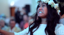Emotional haka takes place at New Zealand wedding