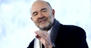 Pierre Moscovici, EU economic affairs commissioner: will set out plans next week to curb practices such as   shifting profits to minor subsidiaries in low-tax nations. Photograph: Simon Dawson/Bloomberg