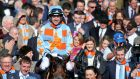 Ruby Walsh celebrates winning on Un De Sceaux at Cheltenham last year. Photograph: Dan Sheridan/Inpho