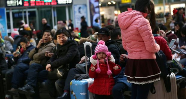 9dbd233a6 No kidding  Year of the Goat blamed as China birth rate slows