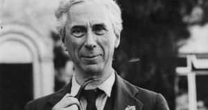 British philosopher Bertrand Russell  (above)  and John Maynard Keynes both predicted shorter working time  in the 1930s. It has been a long time coming but maybe it is happening at last.  Photograph:  Hulton Archive/Getty Images