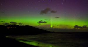 'Auroral Reflections' in Downings, Co Donegal taken by  Brendan Alexander