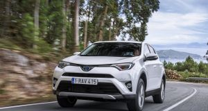 RAV4: Toyota's compact SUV offers an extremely relaxed drive around town and on the motorway