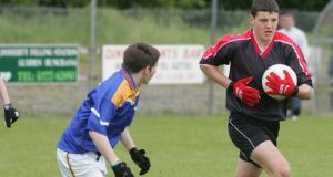 Michael Murphy in action for St Eunan's, Letterkenny.