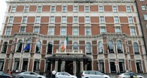 "The hotel said that ""during the incident the fire team and management followed correct protocols designed to ensure the safety of our guests and staff"". Photograph: The Irish Times"