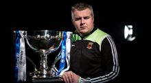 Stephen Rochford: will bring his Mayo team to Cork for the opening Allianz League clash at Páirc Uí Rinn on Sunday.  Photograph: Brendan Moran/Sportsfile