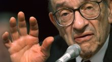 "Former Fed chairman Alan Greenspan made a career about being obtuse, once famously saying: ""If I turn out to be particularly clear, you've probably misunderstood what I've said."" Photograph: William Philpott/Reuters"