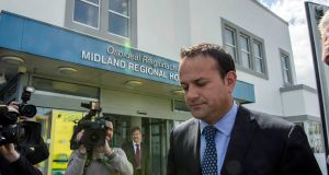 Minister for Health Leo Varadkar was the most frequently lobbied Minister on the alcohol issue. Photograph: Brenda Fitzsimons