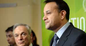 Minister for Health Leo Varadkar at the announcement of 5 Milllion Euro funding for the Health Innovation Hub. Photograph: Eric Luke/The Irish Times