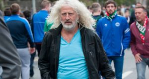 Mick Wallace. Photograph: Collins Photos.