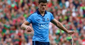 "Dublin's Diarmuid Connolly leaves the pitch after being sent off in last year's All-Ireland semi-final. GAA Director Páraic Duffy has said that Connolly sometimes gets ""a bad press"". Photo: Donall Farmer/Inpho"