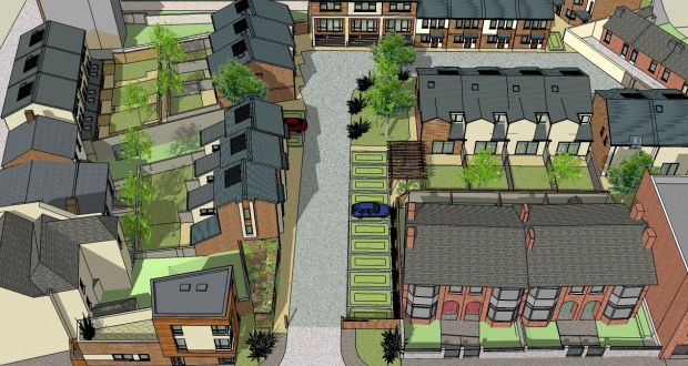 Arbour Hill residential site with planning for 25 houses for sale