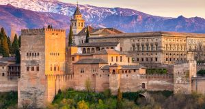Climb the Torre de la Vela for a wonderful view of the city in one direction, the palace complex and the snow-capped Sierra Nevada in the other