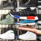 Adidas: The German shoe and sportswear company has been hard at work pumping money behind a very particular problem: it's not as cool as it used to be. Photograph:  Reuters/Hannibal Hanschke