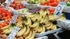A school caretaker  has pleaded not guilty to eight counts of theft of bags of bananas, apples oranges worth about €66 from Scoil Fhursa in north Dublin