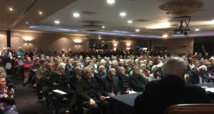 A meeting on the proposed boundary change between Westmeath and Roscommon.