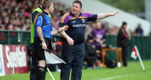 "Wexford senior football manager David Power: ""Our number one aim is to give a good performance in every game, and secondly to get out of Division Four. I know it won't be easy."" Photograph: Lorcan Doherty/Inpho/Presseye"