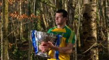 Donegal's Frank McGlynn in attendance at the 2016 Allianz Football League launch in Malone House, Belfast, Co. Antrim. Photograph: Seb Daly/Sportsfile
