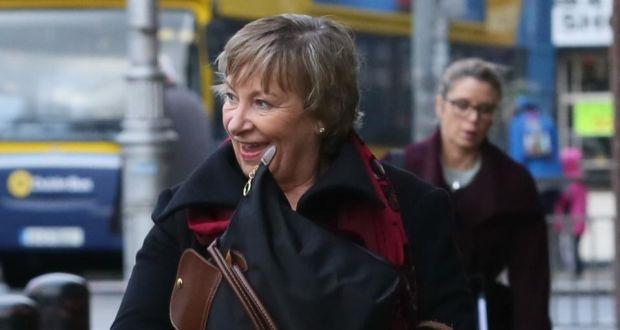 jean nolan leaving the four courts after settling her high court action photograph courts
