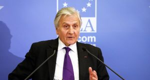 Former ECB pesident Jean-Claude Trichet: the banking report attributed a pivotal role to a threatening letter from  Trichet in advance of the bailout. Photograph: Eric Luke/The Irish Times