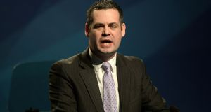 Sinn Féin  TD Pearse Doherty: Said  Oireachtas banking inquiry  report is a series of quotes from senior bankers, politicians and civil servants without any analysis or insight. Photograph: Dara Mac Dónaill