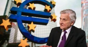 Jean-Claude Trichet, former president of the European Central Bank (ECB), who led the ECB during Ireland's bailout. On Thursday the ECB said it had always been transparent about its role in Ireland's economic crash. Photographer: Chris Goodney/Bloomberg via Getty Images