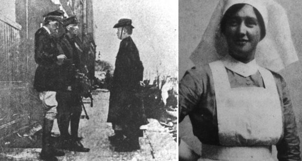 4d4f0c030a4a Nurse Elizabeth O Farrell accompanied Patrick Pearse when he surrendered to  the British at the