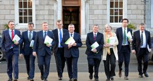 Joe Higgins did not contribute to the final banking inquiry report, producing a minority report instead.  Photograph: Eric Luke/The Irish Times