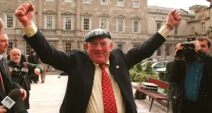 Former Independent TD Jackie Healy Rae. File photograph: Peter Thursfield