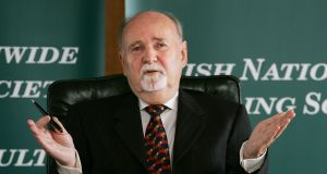 Michael Fingleton: he was controversially paid a €1 million bonus by Irish Nationwide in November 2008. Photograph: Cyril Byrne
