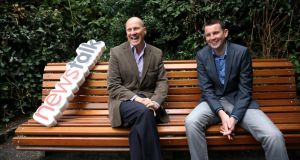Political pedigree: Ivan Yates and his fellow Newstalk Breakfast anchor Chris Donoghue