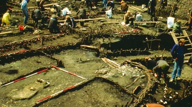 The Wood Quay dig