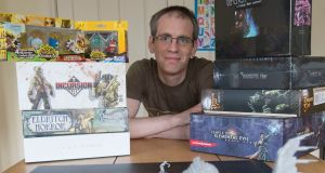 "Ed Power: ""To me, €300 (plus shipping) splurged on a good board game is a bargain compared to, say, €70 blown on Call of Duty: Black Ops."" Photograph: Brenda Fitzsimons"