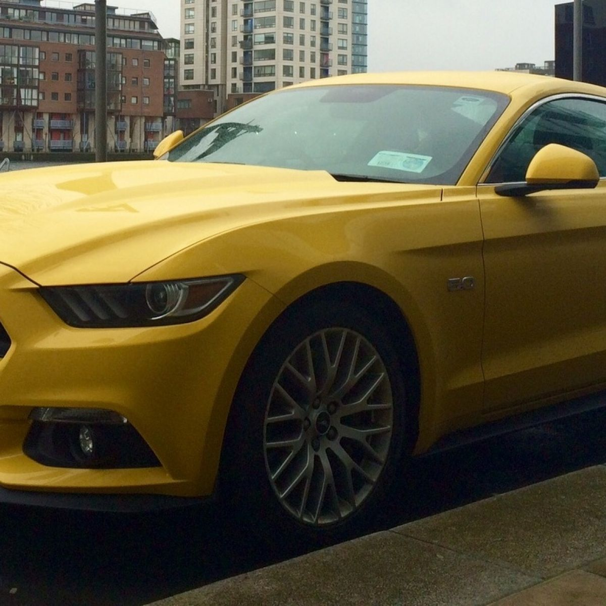 Car review ford mustang put to the test on irish roads