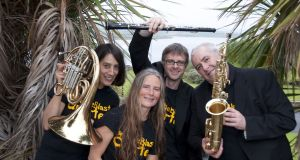 The Whistleblast Quartet is made up of Mary Curran, Síle Daly, Conor Linehan and Ken Edge.