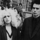 Sex Pistols bassist Sid Vicious with his girlfriend Nancy Spungen in 1978. Photograph: Daily Express/Hulton Archive/Getty Images