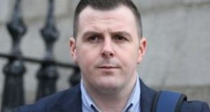 Fianna Fáil activist Brian Mohan, from Beaumont, Dublin, has lost his  challenge to laws linking the State's funding of political parties to their meeting specified gender quota targets. Photograph: Courts Collins.