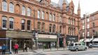 Included in Allsop's March sale is  a retail building at 22 South Great George's Street, Dublin 2, which will have a reserve range of €650,000-€750,000. It is let to Teflar Ltd on a 20-year lease from last July
