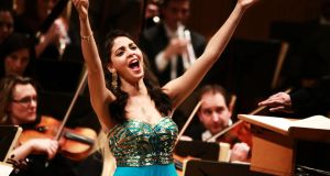 Egyptian soprano Fatma Said:  first prize at the Veronica Dunne International Singing Competition