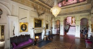 Entrance Hall, Westport House, Co Mayo Photo Johnny Bambury / Fennell Photography