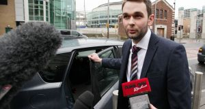 Daniel McArthur of Ashers Baking Company leaves Laganside Court in Belfast, as Northern Ireland's Equality Commission  supported a legal action against the family-run Christian bakery on behalf of gay rights activist Gareth Lee,  on March 30th, 2015. File photograph: Stephen Kilkenny/PA Wire