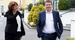 Tánaiste Joan Burton has insisted her deputy leader in the Labour Party, Alan Kelly, is an 'obedient employee'. Photograph: Eric Luke/The Irish Times.