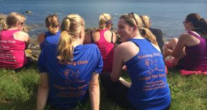 Running buddies: 'To be able to combine fitness and friendship is a wonderful gift. It's the shared memories and experiences on the road that builds the bond.'