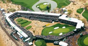 The crowds here in Scottsdale are massive and I'm looking forward to playing the 16th – one of golf's iconic par 3s