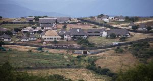 File image from  January 21st, 2014 shows the controversial homestead of South African President Jacob Zuma in Nkandla.  File photograph: Marco Longari/AFP/Getty Images