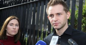Max Schrems, whose case was referred to the European Court of Justice, said he may challenge the arrangement depending on its final text. Photograph: Collins Courts