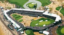 The  par-three at TPC Scottsdale, host to this week's Phoenix Open. Photograph: Scott Halleran/Getty Images