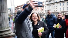 Mary Lou does Moore Street: Sinn Fein's Vice President on the campaign trail